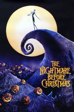 Poster for Nightmare before Christmas