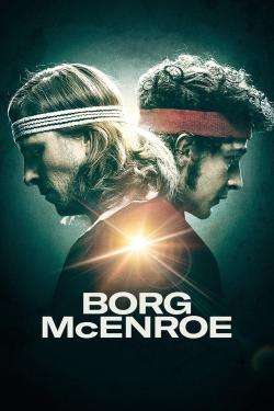 Poster for Borg vs McEnroe