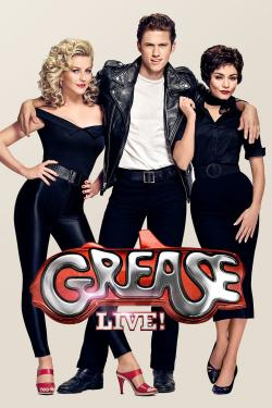 Poster for Grease live!